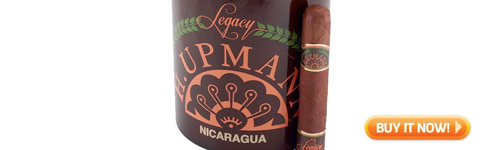 top new cigars feb 4 2019 h upmann legacy nicaragua cigars at Famous Smoke Shop