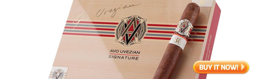 top new cigars feb 18 2019 avo signature cigars at Famous Smoke Shop