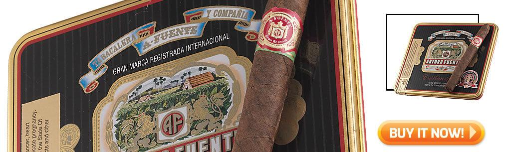 Top Ten Cigarillo and Small Cigar Tins Arturo Fuente Cubanitos cigars in tins at Famous Smoke Shop