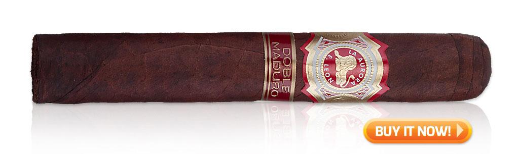 top first time maduro cigars la aurora maduro cigars at Famous Smoke Shop