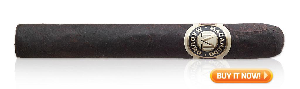 top first time maduro cigars macanudo maduro cigars at Famous Smoke Shop