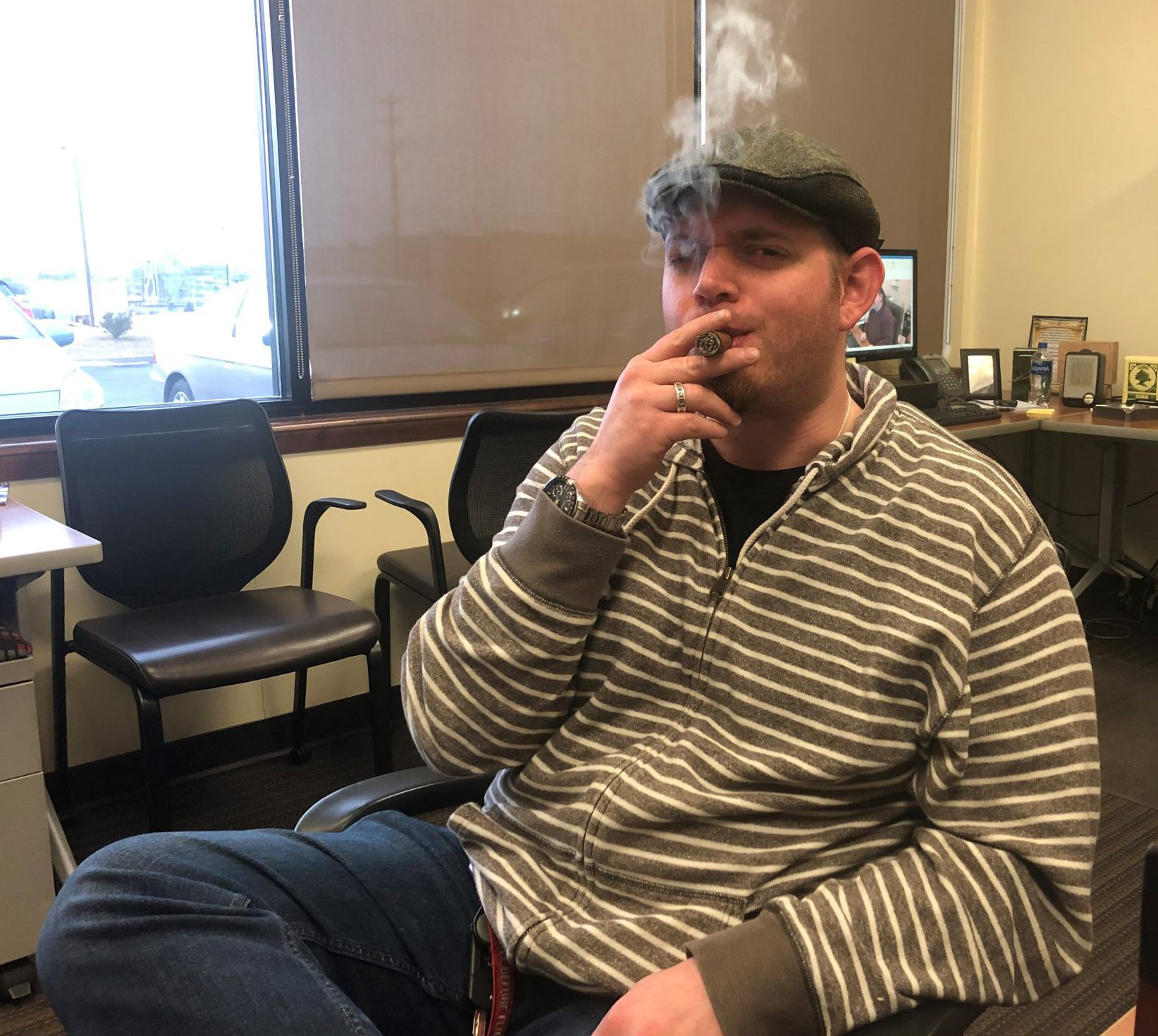 reader's choice top cigars for St. Patrick's Day 2019 Black Works Studio Boondock Saint cigars Jared Gulick at Famous Smoke Shop
