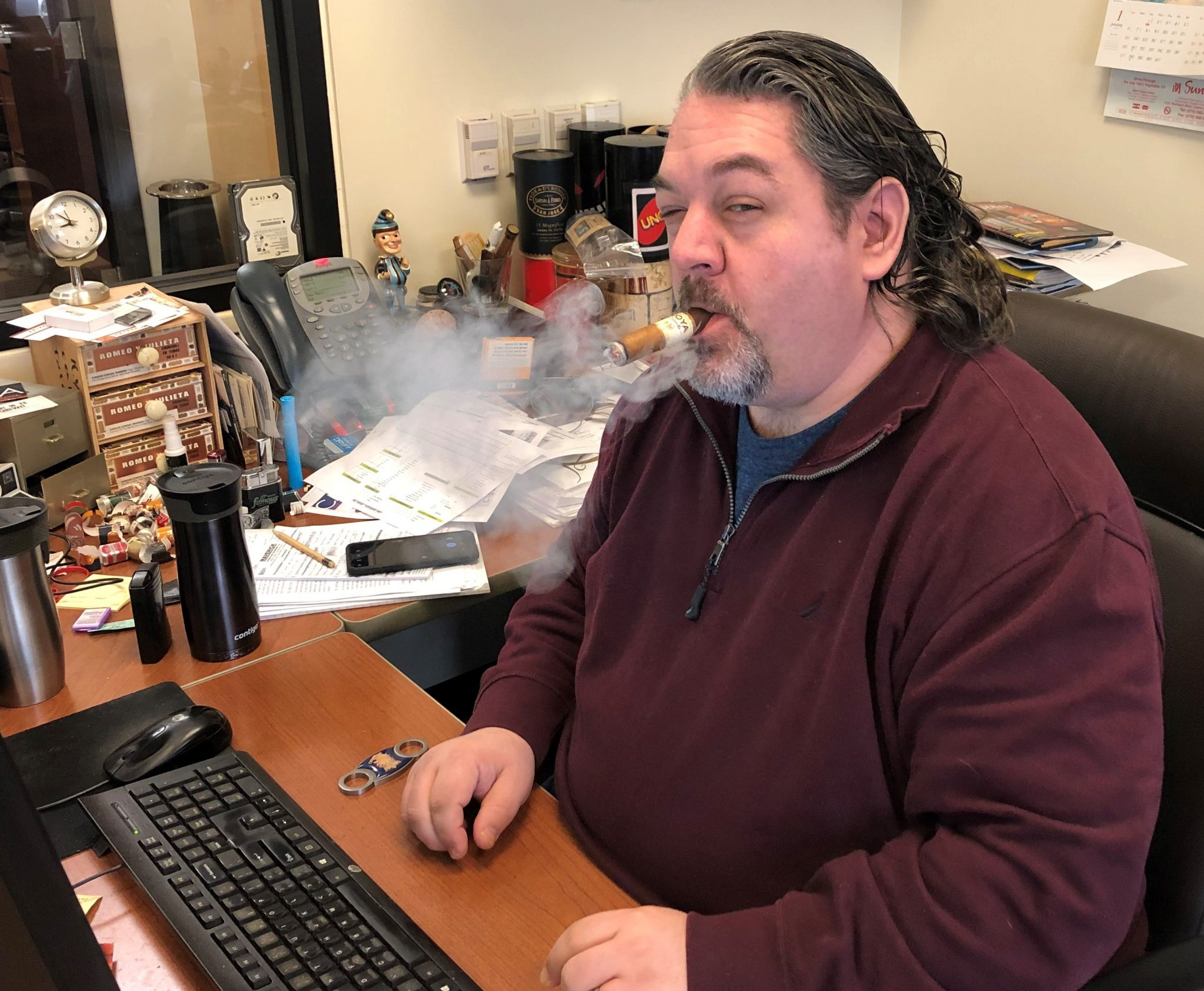 reader's choice top cigars for St. Patrick's Day 2019 601 Green Label Oscuro cigars John Pullo at Famous Smoke Shop