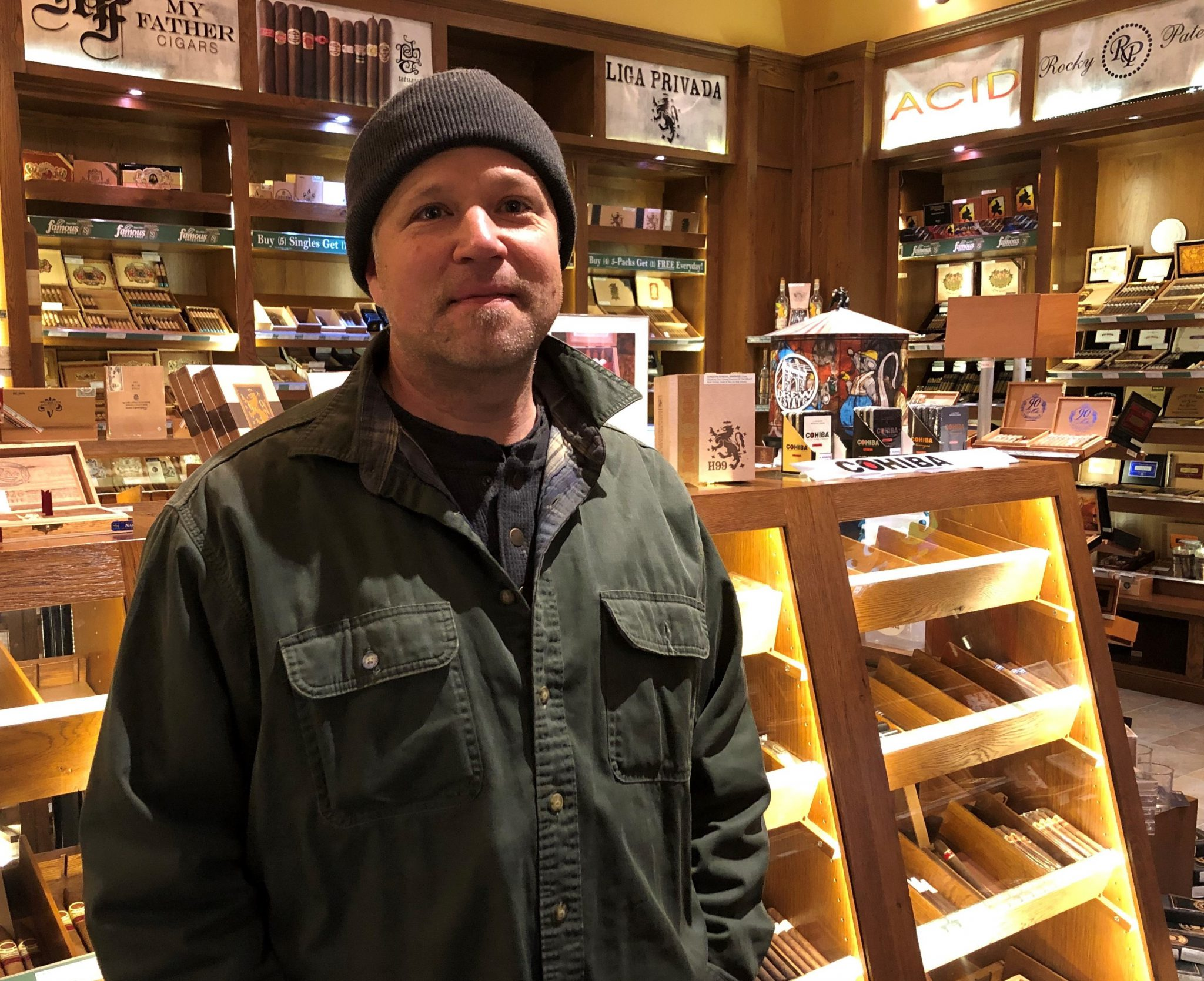 reader's choice top cigars for St. Patrick's Day 2019 liga privada 9 cigars Tom Mowatt at Famous Smoke Shop