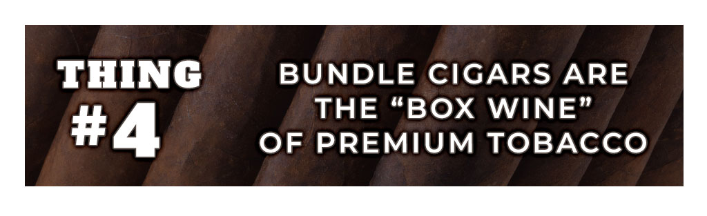 5 things you need to know about bundle cigars - thing 4 banner image boxed wine