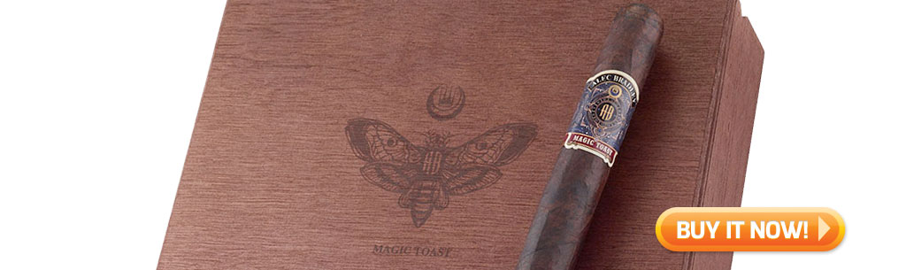 top new cigars march 18 2019 alec bradley magic toast cigars at Famous Smoke Shop