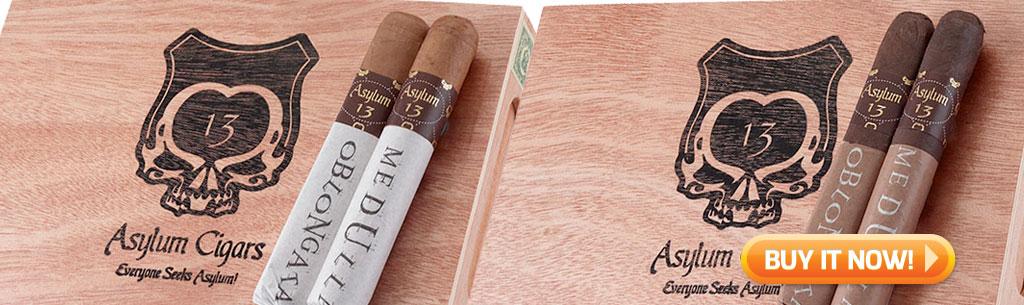 top new cigars march 18 2019 asylum medulla oblongata cigars at Famous Smoke Shop