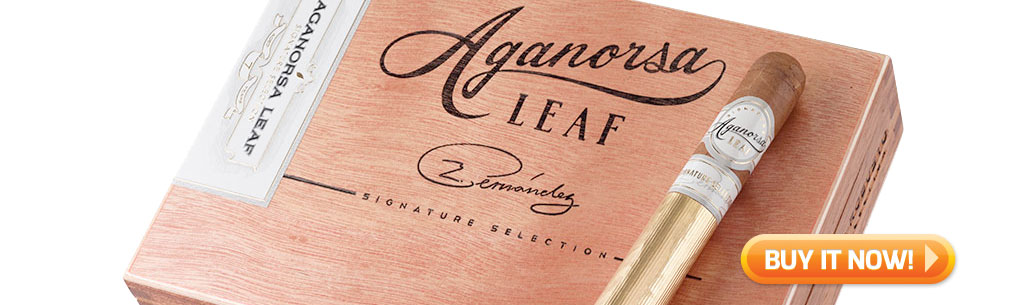 top new cigars april 1 2019 aganorsa signature cigars at Famous Smoke Shop