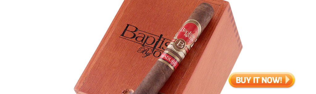 top new cigars april 1 2019 oliva baptiste maduro cigars at Famous Smoke Shop