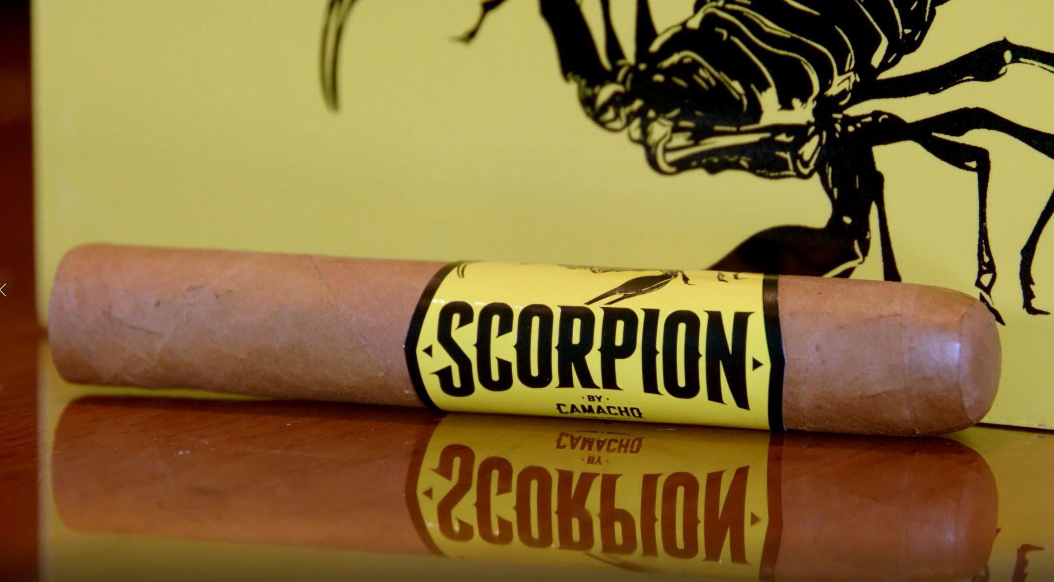 camacho scorpion connecticut cigar review video unlit Camacho Scorpion cigar at Famous Smoke Shop