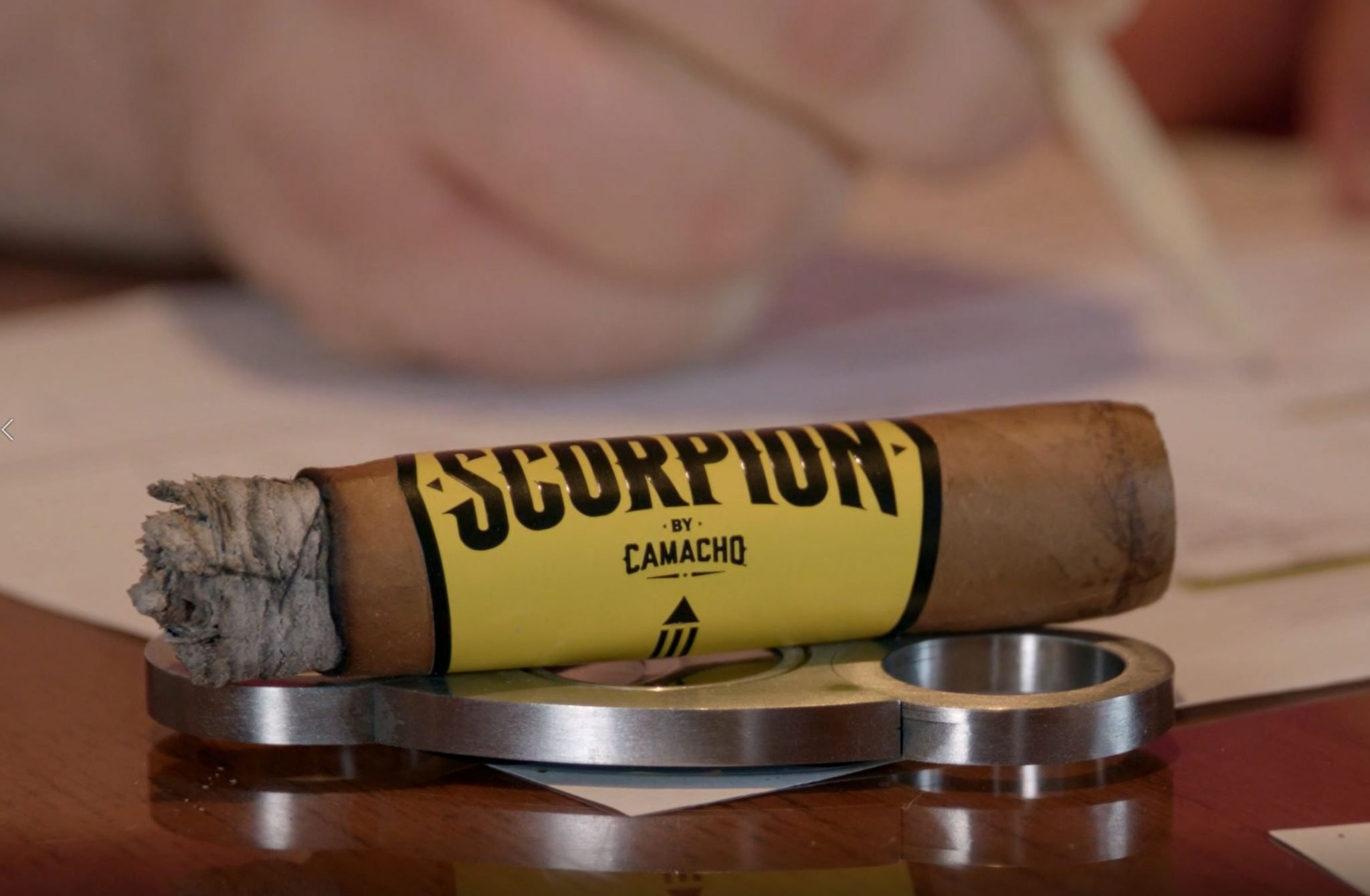 camacho scorpion connecticut cigar review video smoking the cigar at Famous Smoke Shop