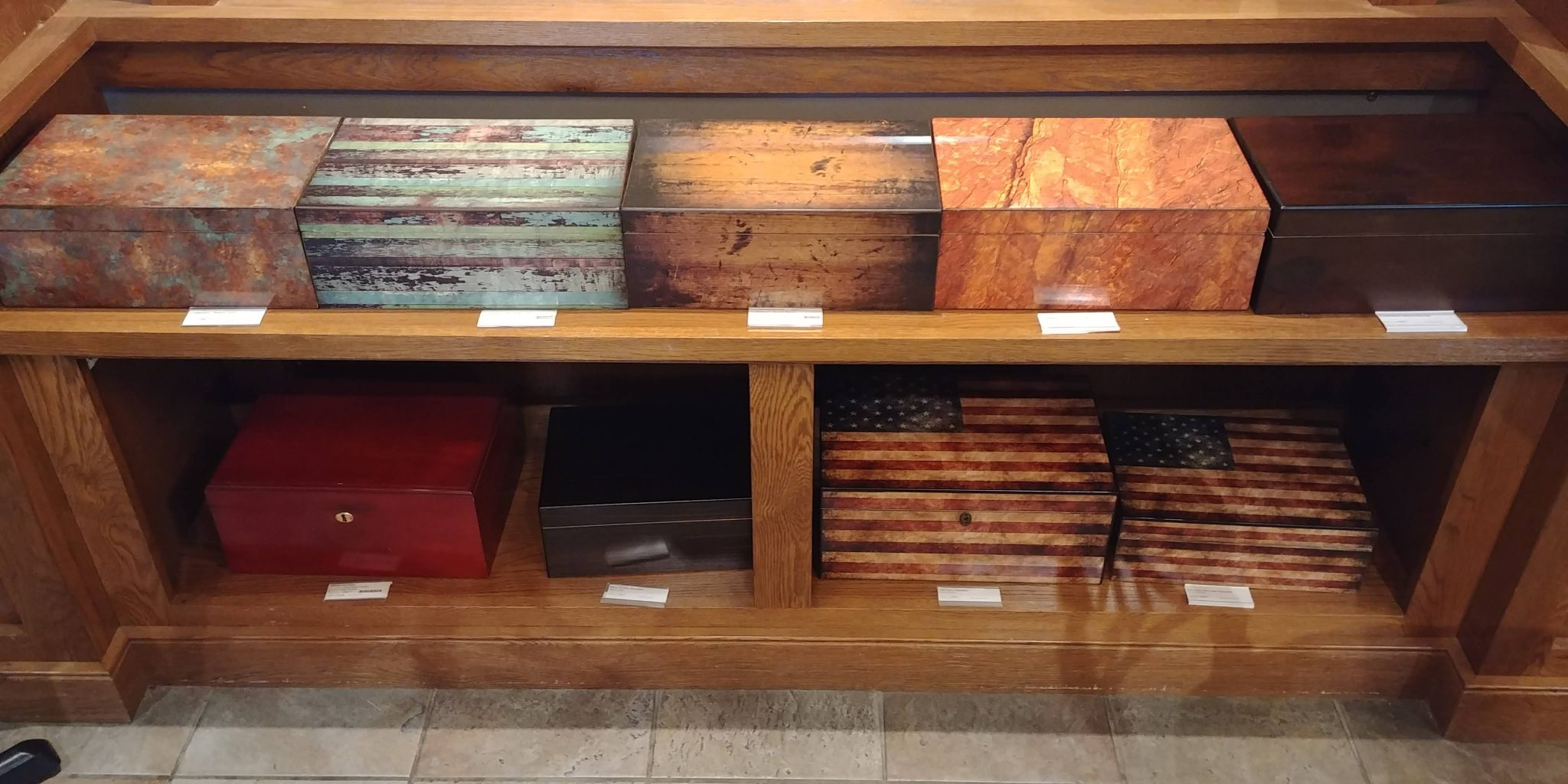 5 Tips for Buying Your First Humidor humidors on sale at Famous Smoke Shop