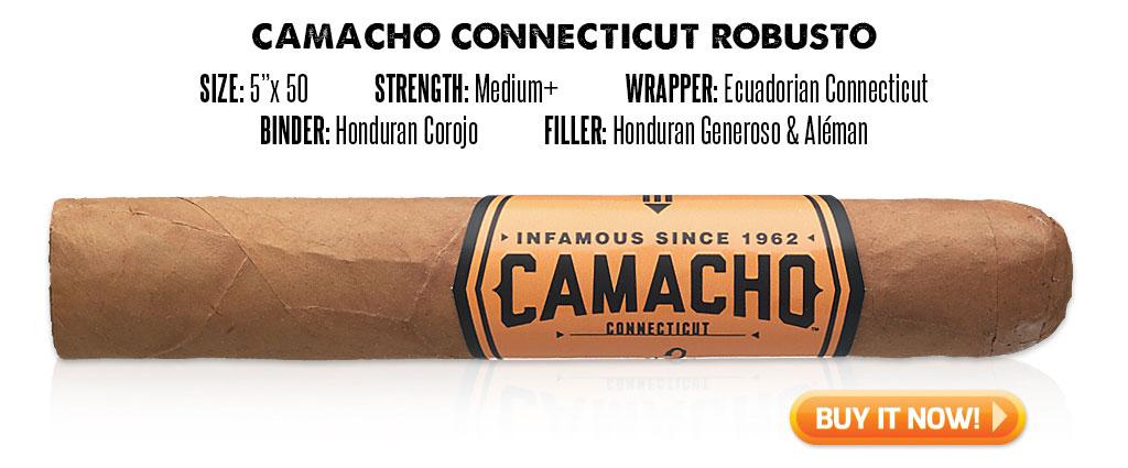 popular connecticut cigar resurgence camacho connecticut cigars at Famous Smoke Shop