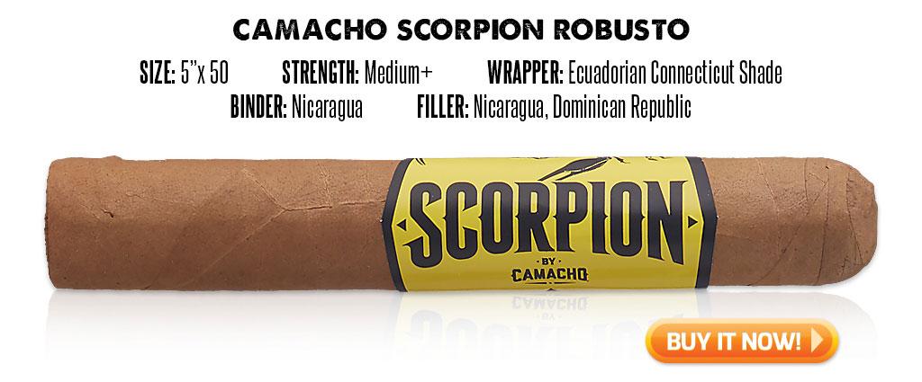 popular connecticut cigar resurgence camacho scorpion connecticut cigars at Famous Smoke Shop