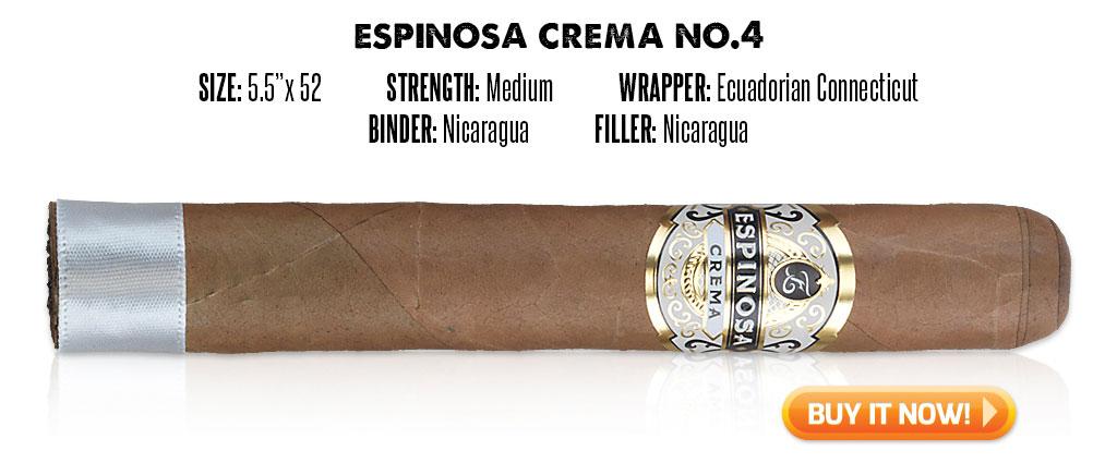 popular connecticut cigar resurgence espinosa crema connecticut cigars at Famous Smoke Shop