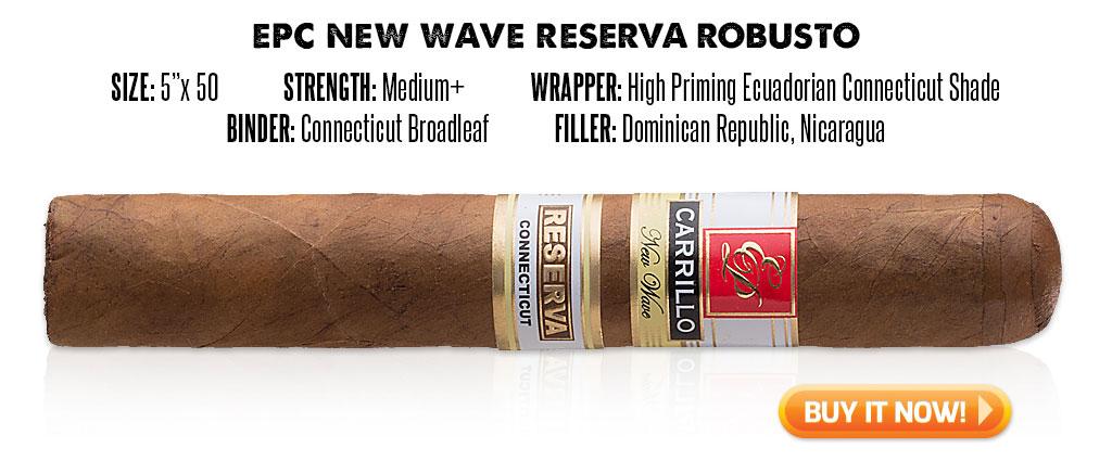 popular connecticut cigar resurgence EPC New Wave Reserva connecticut cigars at Famous Smoke Shop