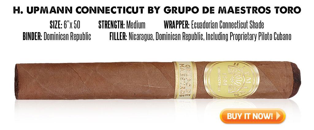 popular connecticut cigar resurgence H. Upmann Connecticut cigars at Famous Smoke Shop
