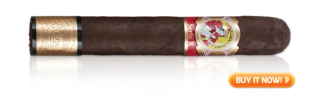5 cigars that made my career Michael Giannini Ventura cigars La Gloria Cubana Serie R cigars at Famous Smoke Shop