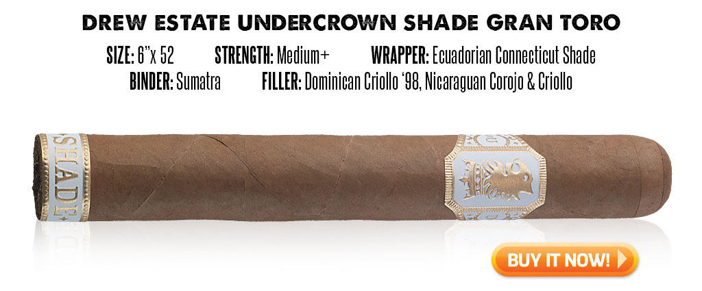popular connecticut cigar resurgence Undercrown Shade connecticut cigars at Famous Smoke Shop
