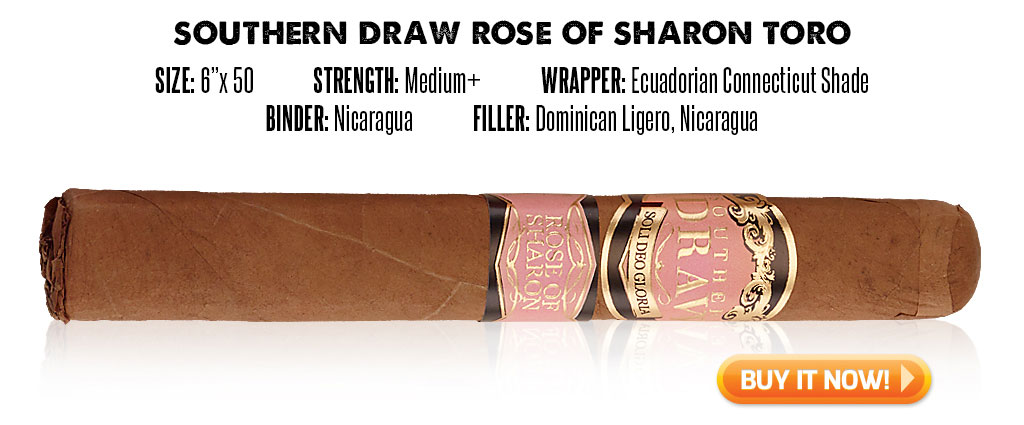 popular connecticut cigar resurgence Southern Draw Rose of Sharon connecticut cigars at Famous Smoke Shop