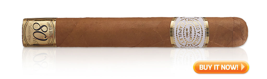 Romeo y Julieta House of Capulet 80th Anniversary cigar review video Toro at Famous Smoke Shop