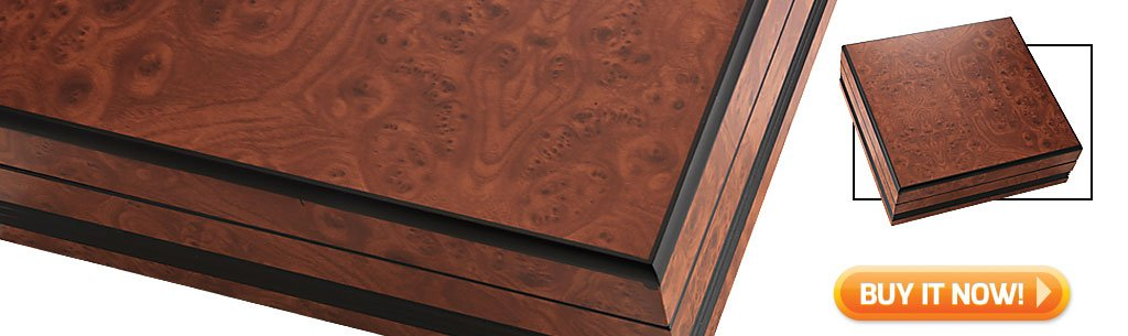 5 Tips for Buying Your First Humidor Craftsman's Bench Hampton small humidor at Famous Smoke Shop