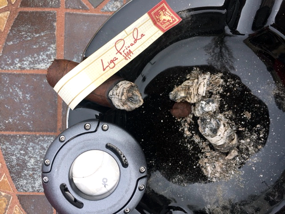 #nowsmoking - drew estate liga privada H99 cigar review by Gary Korb
