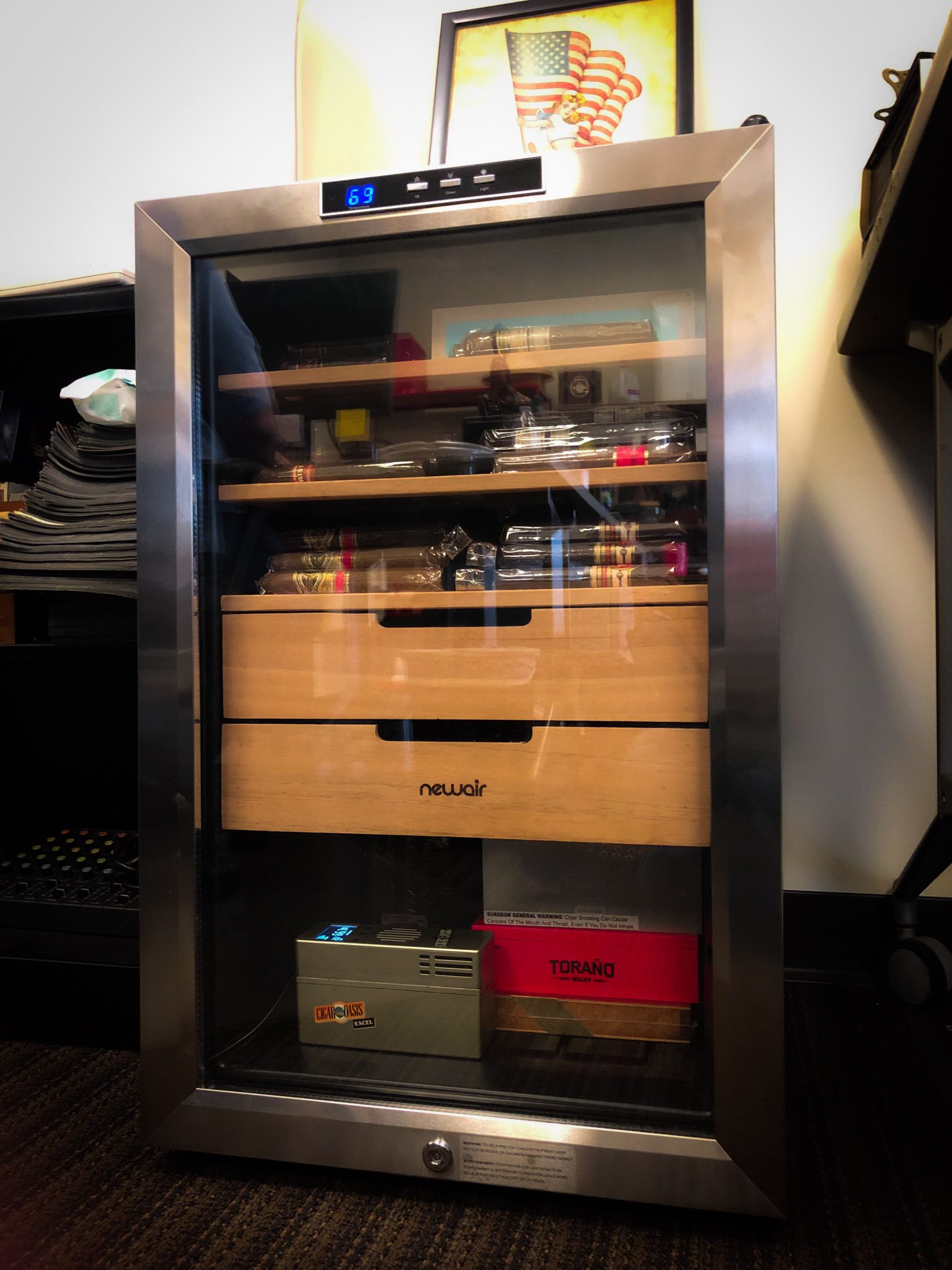5 Tips for Buying Your First Humidor wineador at Famous Smoke Shop