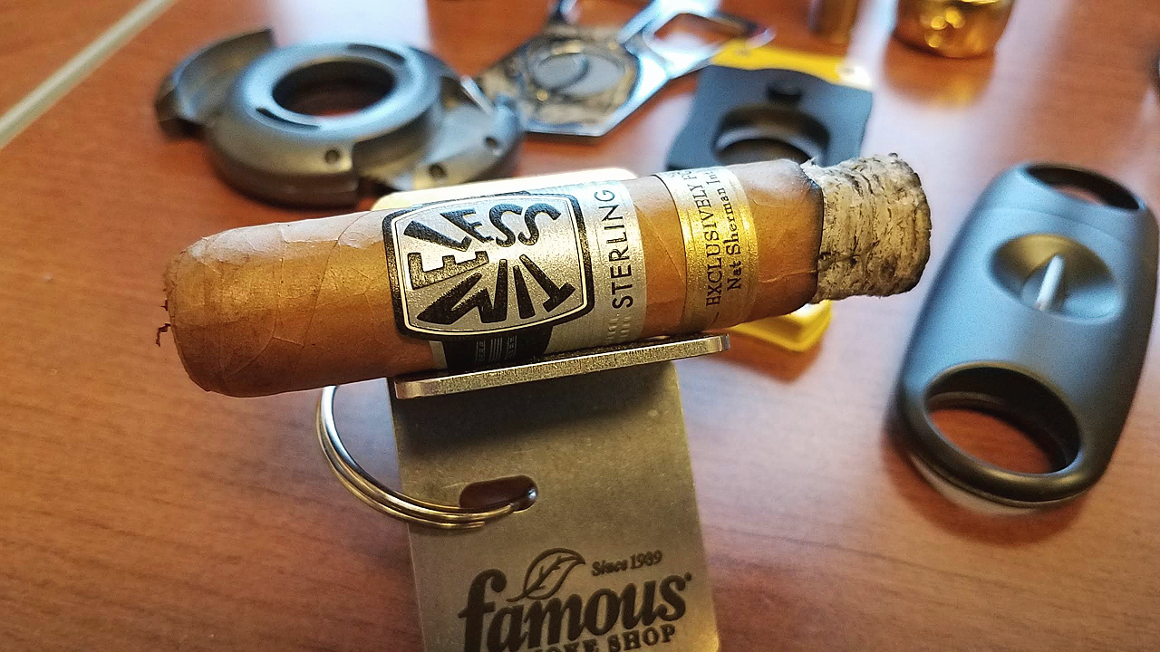 nat sherman timeless sterling cigar review short robusto by Gary Korb