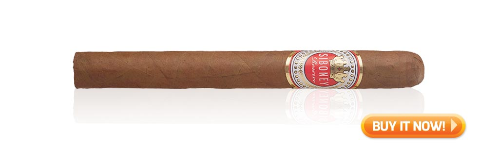 #nowsmoking Siboney Reserve cigar review - lonsdale at Famous Smoke Shop