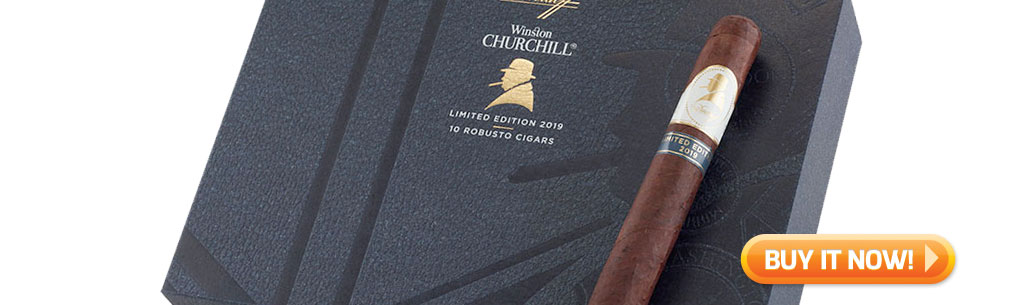 Top New Cigars Apr 29 2019 Winston Churchill Limited Edition 2019 cigars at Famous Smoke Shop