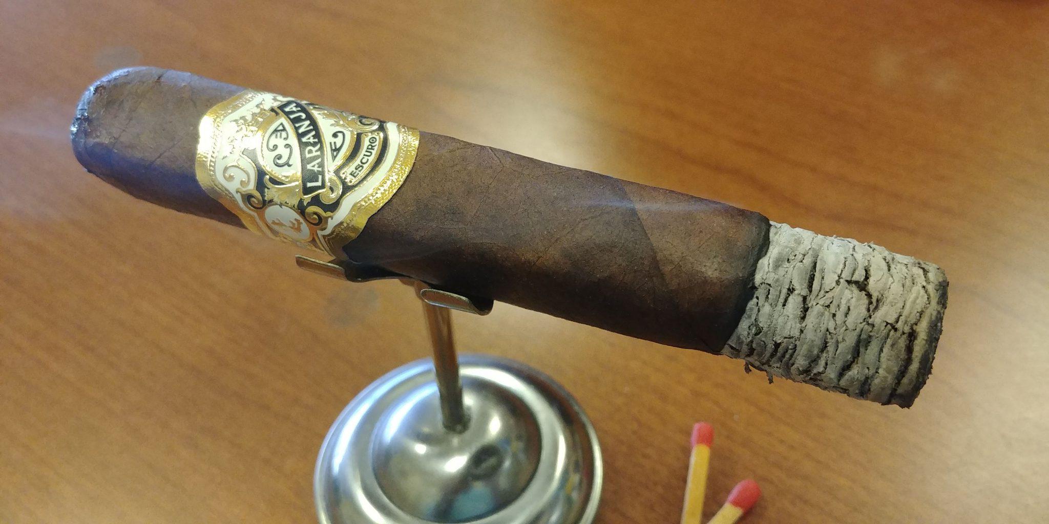 #nowsmoking laranja reserva escuro cigar review by gary korb
