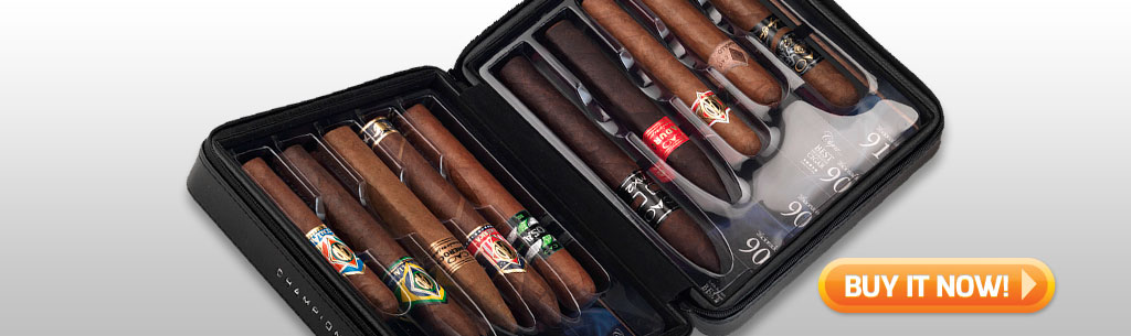 Father's Day Cigar Gift Ideas for Dad Under 100 Under 75 CAO Champions Cigar Gift Set at Famous Smoke Shop