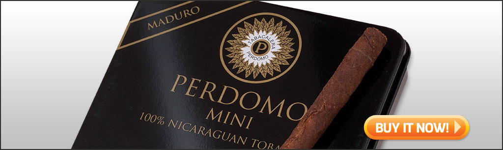 best cigars for manning the grill perdomo mini maduro cigars at Famous Smoke Shop