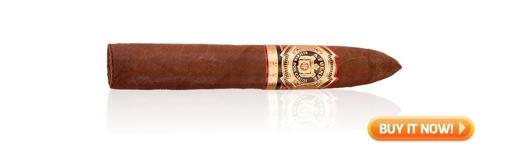 Arturo Fuente Cigars Guide Arturo Fuente Don Carlos cigar review Belicoso at Famous Smoke Shop