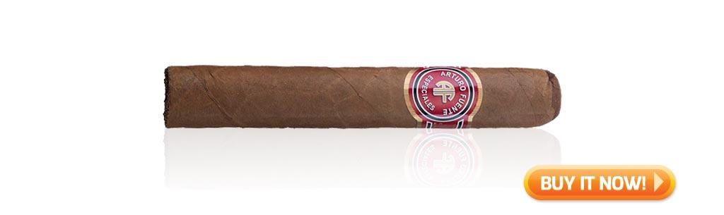 Arturo Fuente Cigars Guide Arturo Fuente Especiales cigar review Conquistador at Famous Smoke Shop