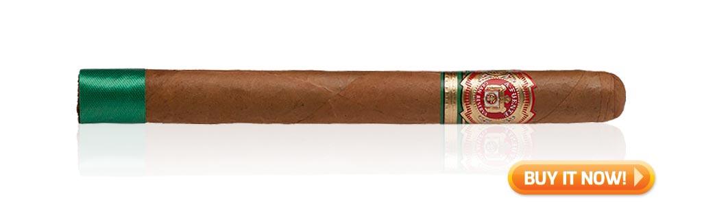 Arturo Fuente Cigars Guide Arturo Fuente Seleccion d'Oro cigar review Churchill at Famous Smoke Shop