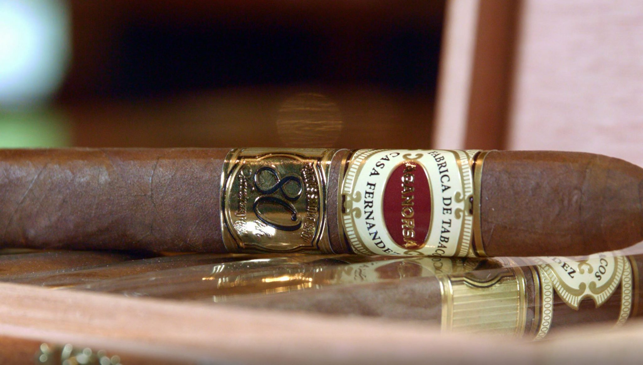 Aganorsa Leaf Famous 80th Anniversary Cigar Review at Famous Smoke Shop by Tommy Zman