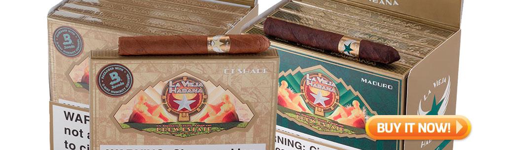 top new cigars may 13 2019 La Vieja Bomberitos cigarillo cigars at Famous Smoke Shop