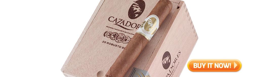 top new cigars may 27 2019 la aurora cazadores cigars at Famous Smoke Shop