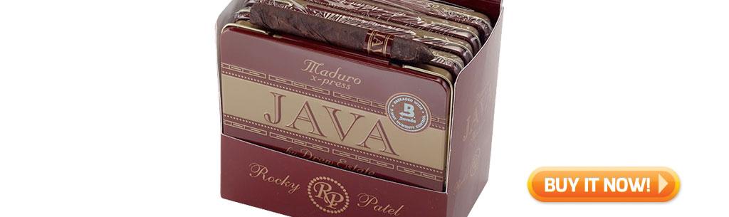 top new cigars may 27 2019 java x-press cigarillo cigars at Famous Smoke Shop