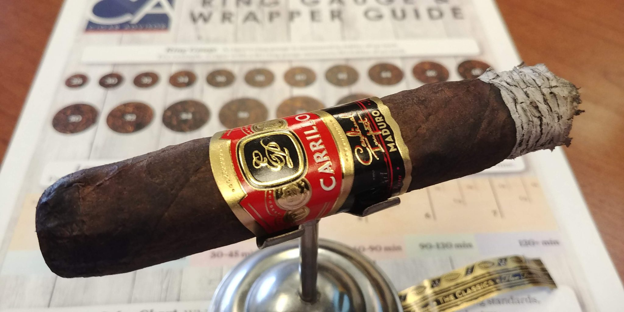 EPC EP Carrillo Cigars Guide EP Carrillo Cardinal Impact Maduro Cigar Review by John Pullo