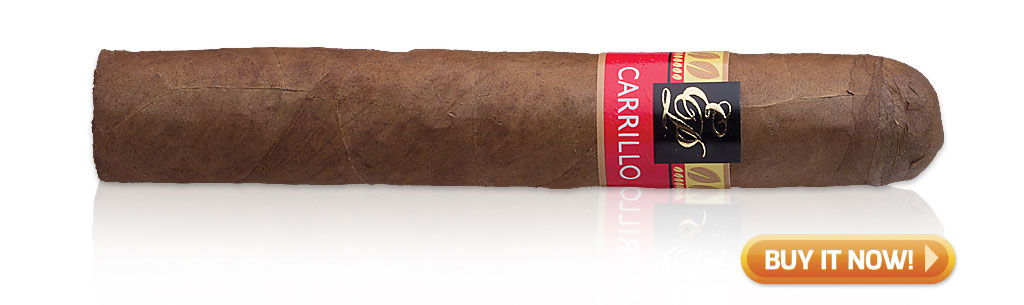 EPC EP Carrillo Cigars Guide EP Carrillo Cardinal Impact cigar review at Famous Smoke Shop