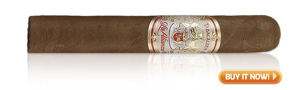 EPC EP Carrillo Cigars Guide EP Carrillo La Alianza Rosado cigar review at Famous Smoke Shop