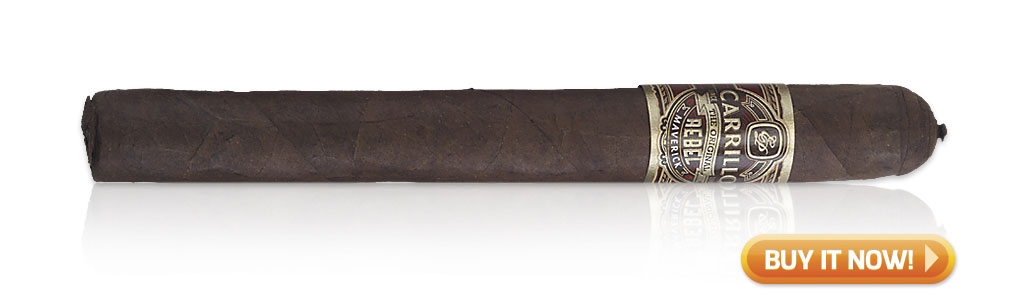 EPC EP Carrillo Cigars Guide EP Carrillo Original Rebel Maverick cigar review at Famous Smoke Shop