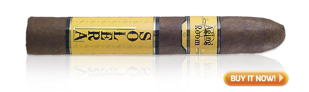 top puro cigars dominican puros Aging Room Solera Sun Grown cigars at Famous Smoke Shop