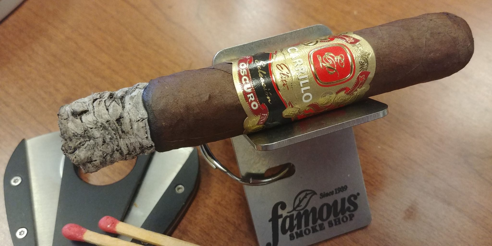EPC EP Carrillo Cigars Guide EP Carrillo Seleccion Oscuro cigar review by John Pullo 1