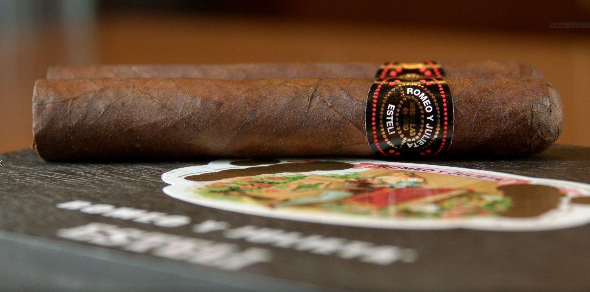 Romeo y Julieta Esteli cigar review box image 2