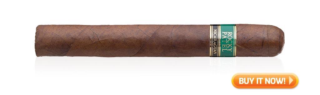 Top Rated Nicaraguan Cigars Under $10 Rocky Patel Nicaraguan Cigars Toro at Famous Smoke Shop