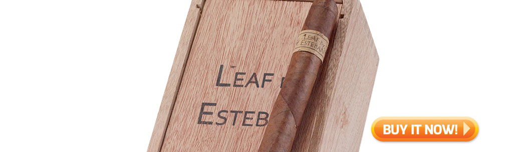 top new cigars june 10 2019 leaf by esteban cigars at Famous Smoke Shop